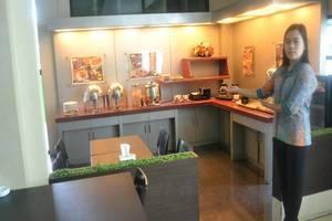 Violand Garden Hotel Samarinda - Ruang makan