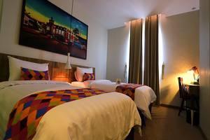 Tjokro Style Yogyakarta Yogyakarta - Kamar tidur