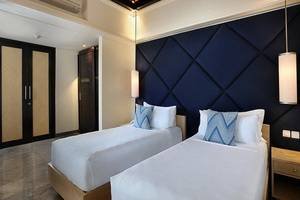 Peppers Seminyak - 2 Bedroom Pool Villa - tempat tidur twin