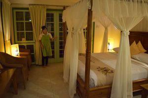 Hotel Deli River  Medan - Kamar deluxe dengan tempat tidur ganda
