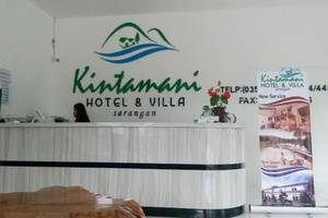 Hotel & Villa Kintamani Sarangan Magetan - Resepsionis