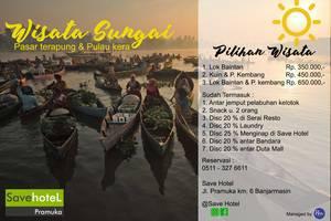 Save Hotel  Banjarmasin - Wisata Sungai