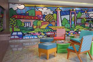 MaxOneHotels at Pemuda Jakarta - Area tempat duduk lobi