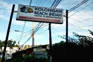 Kolongan Beach Hotel Manado - Papan Nama Hotel