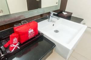 ZenRooms Legian Dewi Sri - wastafel kamar mandi