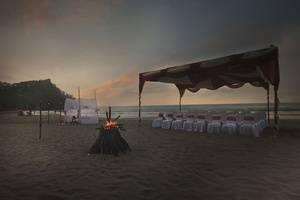 Pesona Krakatau Anyer - Pemandangan laut