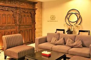 The Nibbana Villas Bali - ruang tamu dan ruang santai