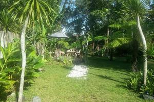 Villa Padi Pakem Yogyakarta - taman belakang