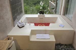 Puri Sebatu Resort Bali - Kamar mandi
