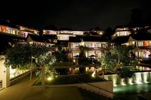 Turi Beach Resort Batam - Tirta Wing at night