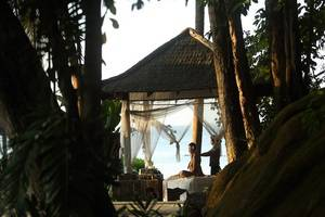 Turi Beach Resort Batam - Massage at Gazebo
