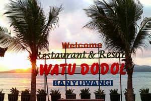 Watu Dodol Hotel Banyuwangi - View laut