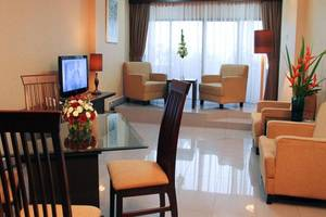 Condominium Danau Toba Hotel Medan - Ruang tamu