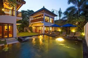 Bali Baliku Private Pool Villas Jimbaran - Three Bedroom Private Pool Villa