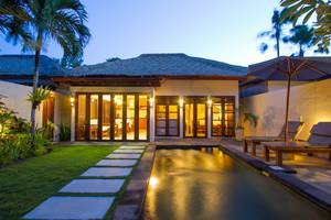 Bali Baliku Beach Front Luxury Private Pool Villas