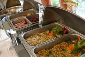 Bali Baliku Private Pool Villas Jimbaran - Buffet breakfast at Balibaliku Restaurant