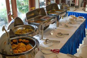 Bali Baliku Villa Bali - Buffet breakfast at Balibaliku Restaurant