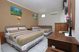 Hotel Mataram 1 Yogyakarta - Big Family Room 2 Double-Bed