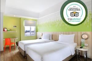 Zest Hotel Sukajadi Bandung - ZEST TWIN ROOM
