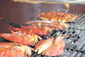 Kampoeng Nelayan Hotel Palu - Meal