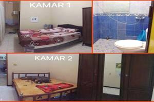 Sulfat Homestay Syariah Bumbing - Kamar tidur dan toilet