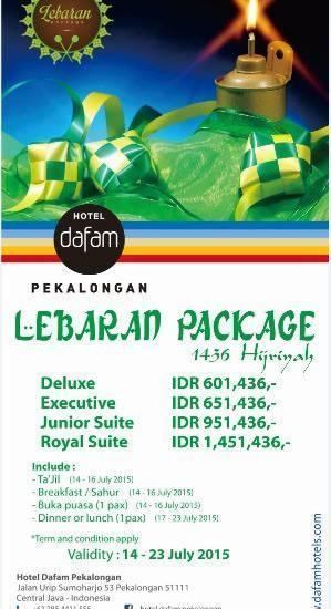 Hotel Dafam Pekalongan - Lebaran Package