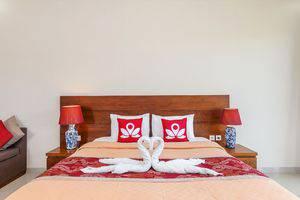 ZenRooms Batu Bolong Canggu - Tampak tempat tidur double
