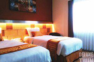 Ruby Hotel Syariah Bandung - Kamar Deluxe Twin