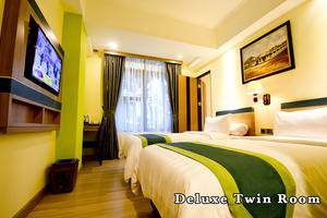 Green Batara Hotel Bandung - Deluxe Twin Room