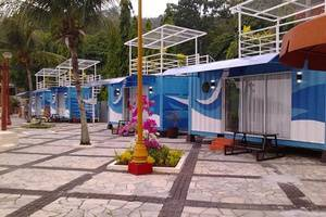 D'Cabin Hotel Container Jatiluhur Purwakarta - Eksterior
