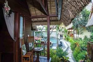 The Nichos Bungalow Bali - Teras