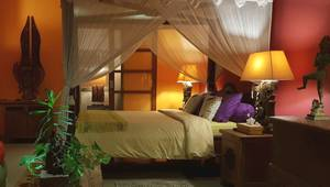 Green Chaka Villa Bali - Kamar tidur