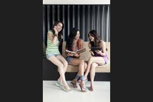 Kutaville Bali - Lobby Sitting Area