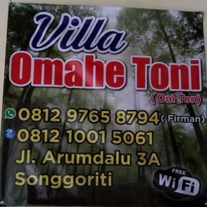 Villa Omahe Toni Malang - Servis 24 jam