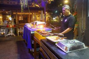 Legian Village Hotel Bali - BBQ
