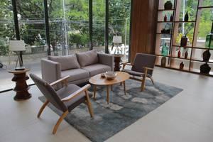 AllStay Hotel Semarang - Ruang tamu