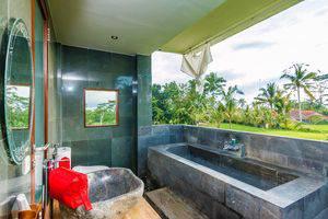 ZenRooms Kedisan Tegal Alang Ubud Villa Bali - Kamar mandi