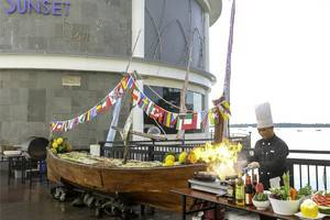 BW Suite Belitung - Makan malam Sabtu BBQ