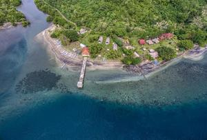 Gipsy Beach Bungalow Lombok - View
