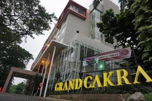 Grand Cakra Hotel Malang - View