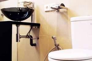 AP Apartment & Suite Bali - Kamar mandi (Deluxe 2 kamar tidur)