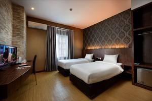 The Crew Hotel Kno Medan - twin kelas bisnis