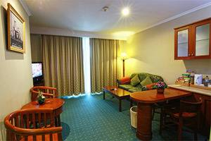 Grand Arkenso Park View Simpang Lima Semarang - Executive suite room ( living room)