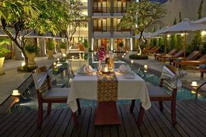 The Rani Hotel & Spa Bali - Makan malam romantis