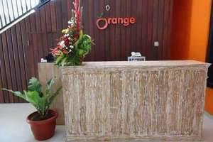 Orange Hotel Bali - Resepsionis