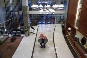 Jambuluwuk Malioboro Hotel Yogyakarta - lobi