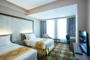 Selyca Mulia Hotel and Shopping Center Samarinda - Kamar Deluxe Twin