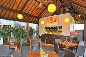 Ganga Hotel & Apartment Bali - Restoran