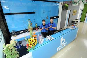 Blessing Hotel Palembang - Resepsionis