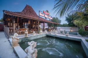 Pandawa Beach Villas & Resort Lombok - masuk ke lobi